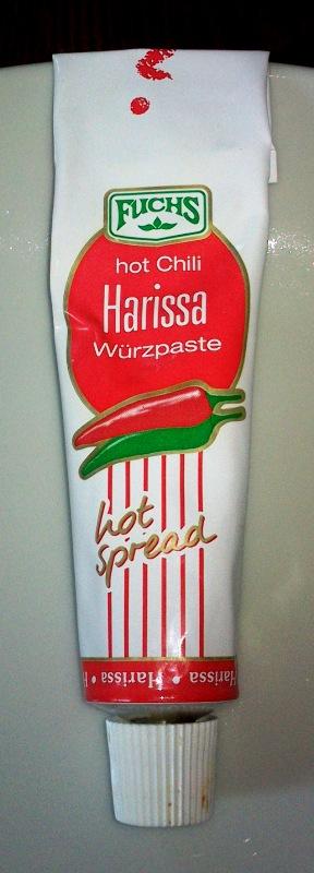 Kommt auf meinen Einkaufszettel: Fuchs Harissa