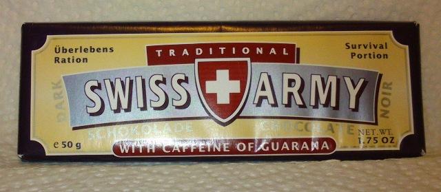 Die Schweizer Geheimwaffe: Swiss Army Chocolate