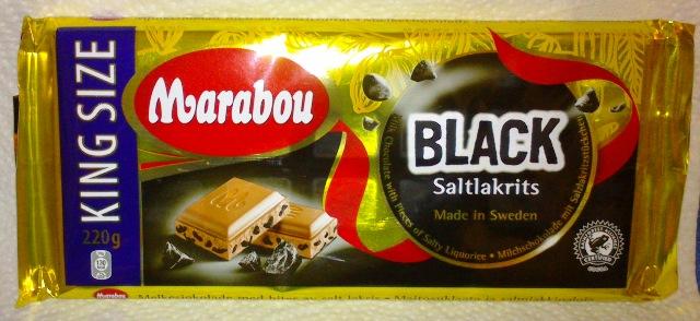 Nur für wahre Freaks: Marabou Salzlakritz