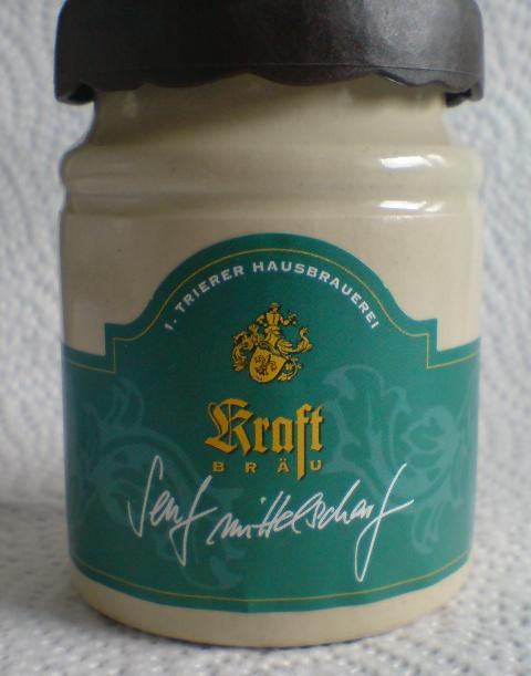 Kraft-Bräu Senf mittelscharf