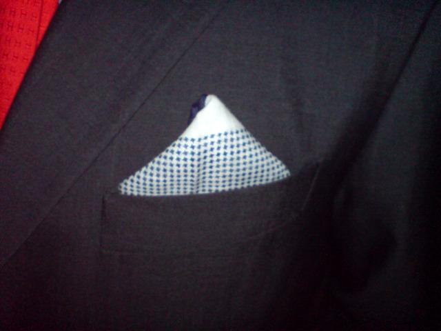 Einstecktuch mit Kufiya-Muster
