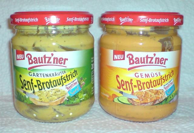 Senf-Brotaufstrich